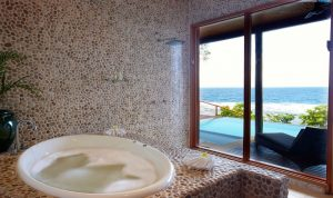 Namale Fiji Dream House Bath with Ocean view