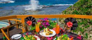 Namale Fiji Oceanfront dining