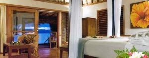 Qamea Luxury Resort Fiji Honeymoon Bure 1
