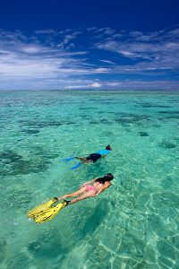 Snorkelling Fiji