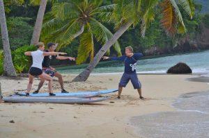 QAMEA SURF LESSON 1