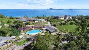 Pool Cabana Aerial